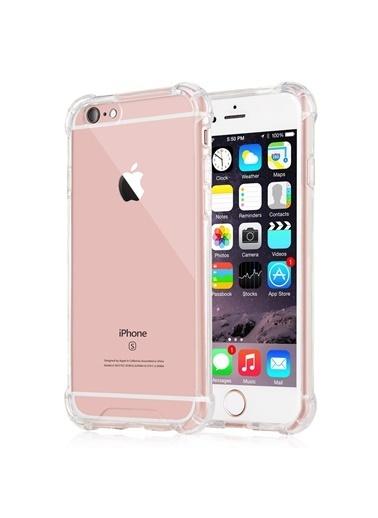 Microsonic Shock-Absorbing Kılıf Apple iPhone 6S Plus Şeffaf Renksiz